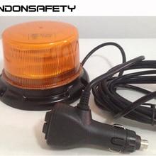 2 шт! ECE R65 одобренный светодиодный сигнальный маяк, купольный светильник, 12 шт. 3 Вт светодиодный, 9 вспышек, водонепроницаемый IP67, магнитный