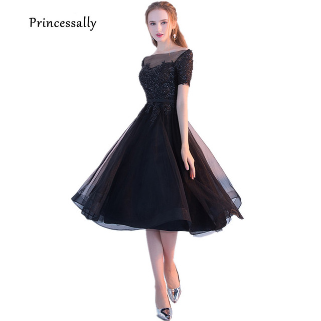 Vestidos de fiesta negro corto