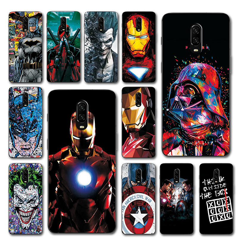 The Avengers Captain America Phone <font><b>Case</b></font> For Onplus <font><b>6T</b></font> Silicone <font><b>Bumper</b></font> 1+<font><b>6T</b></font> Unique Cover For One Plus <font><b>6T</b></font> A6010 <font><b>Cases</b></font> Coque 6 T image