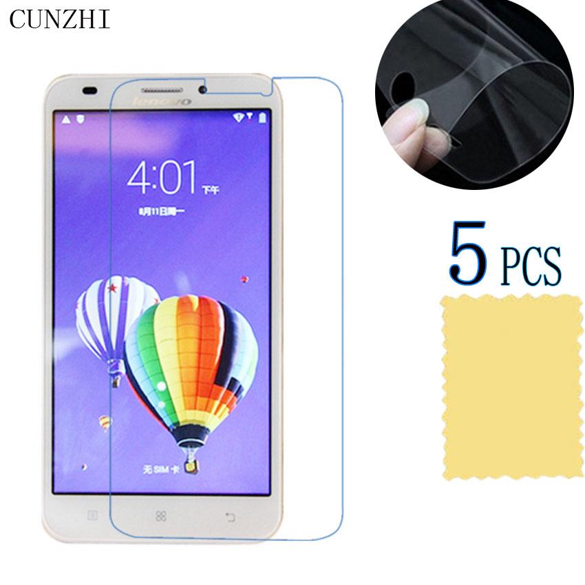 5pcs High Clear LCD Ultra Slim PET Material Screen Protector Film For Lenovo A916 Mobile Phone Accessories