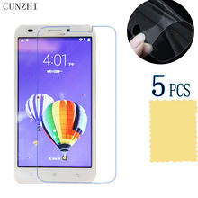 5pcs High Clear LCD Ultra Slim PET Material Screen Protector Film For Lenovo A916 Mobile