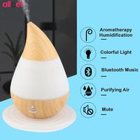 235ml Bluetooth Water Droplets Aroma Air Humidifier Mini USB Bluetooth Aroma Diffuser Househld Aromatherapy Essential Oil