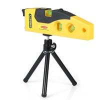 Professional Laser Level nivel laser line construction tools + Adjustable Tripod Dot Cross Line Horizontal Vertical 45 degree