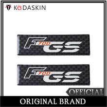 KODASKIN Motorcycle 3D Carbon Timing Belt Cover Front and Rear Round Decal for BMW F700GS