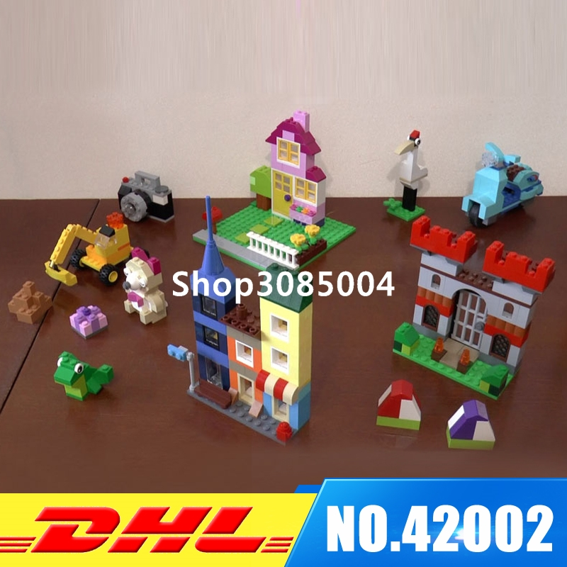 Lepin 42002 840Pcs Creative Series The Large Brick Box Building Block Compatible 10698 Brick Toy степлер мебельный со скобами sparta 42002