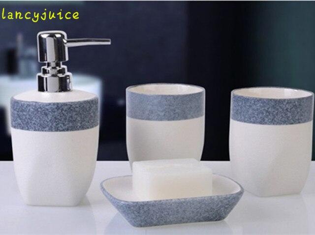 Keramik badezimmer set mosaik serie 4 stücke bad accessoires bad ...