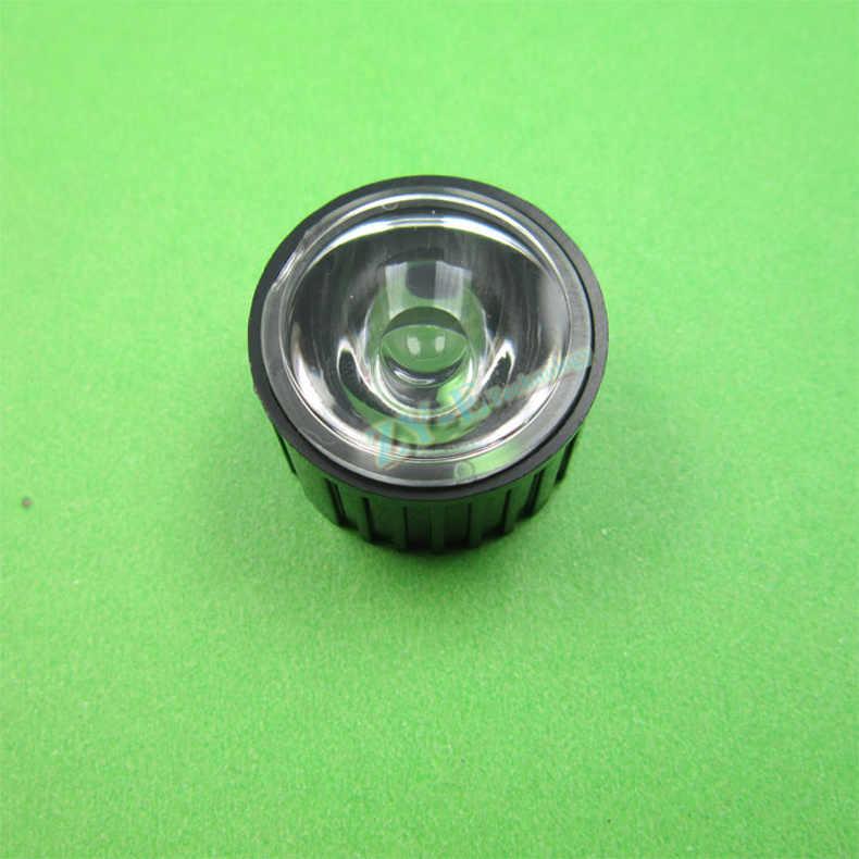 300 компл./лот высокой мощности LED объектив 20 мм PMMA 5,8, 15,25, 30,45, 60,90, 120 градусов гладкой поверхности линзы с кронштейн держатель Бесплатная доставка