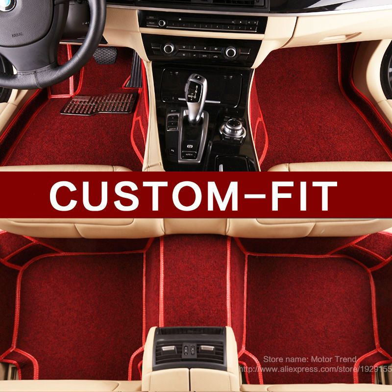 Custom Fit Car Floor Mats For Land Rover Discovery 3
