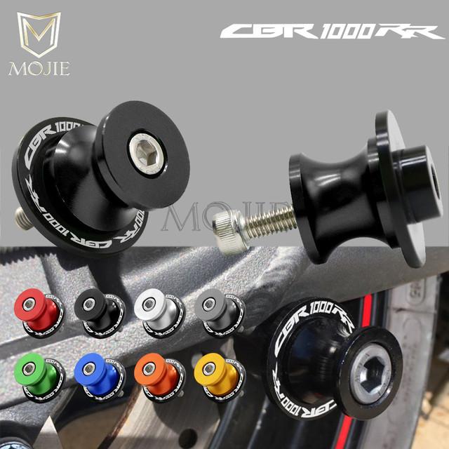 For Honda CBR 1000RR CBR1000RR CBR 1000 RR CBR1000 RR 2004-2011 2005 2006 2007 2008 2009 8mm Motorcycle Swingarm Spools Slider