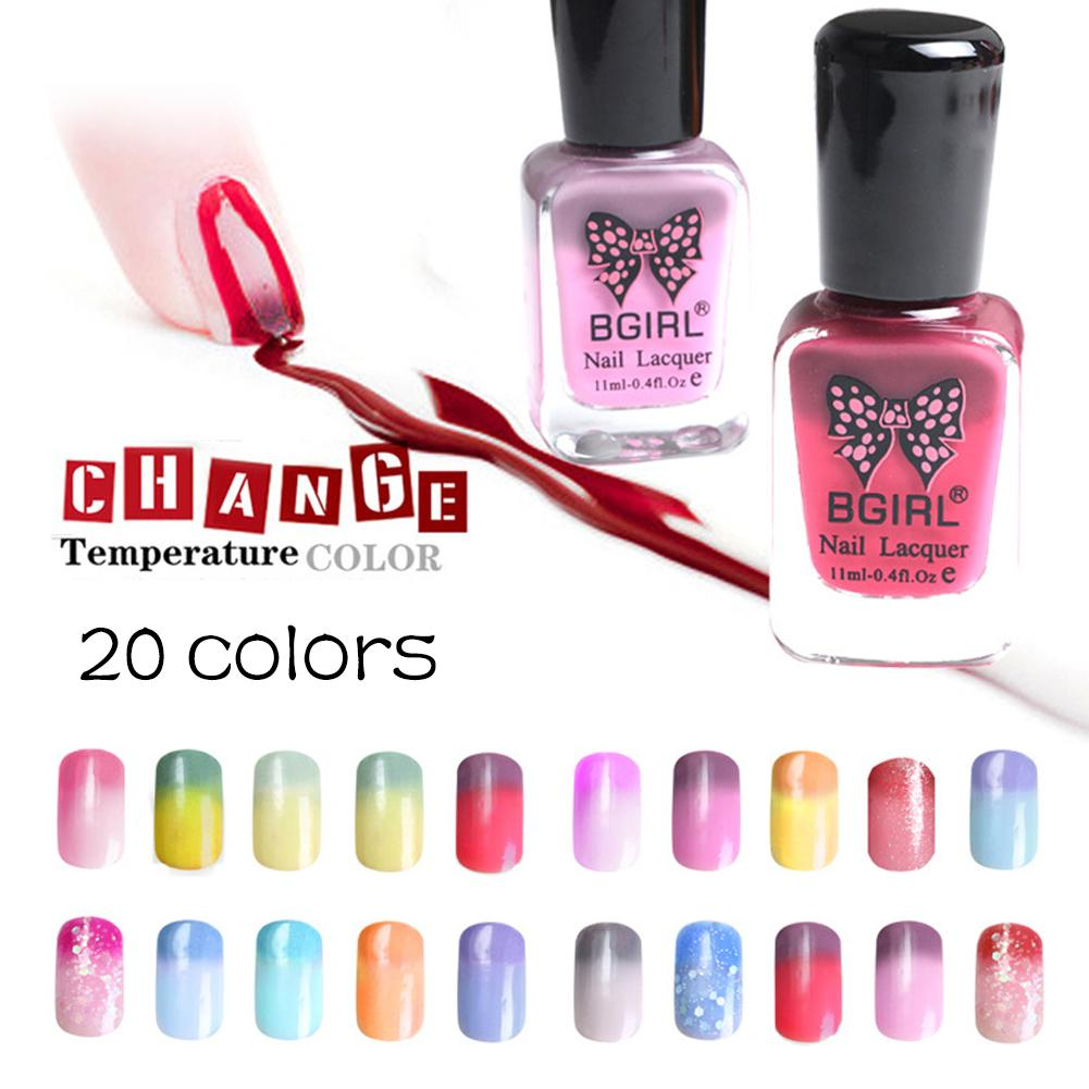 1PC Brand Nail Polish Temperature Change Nail Color Gel