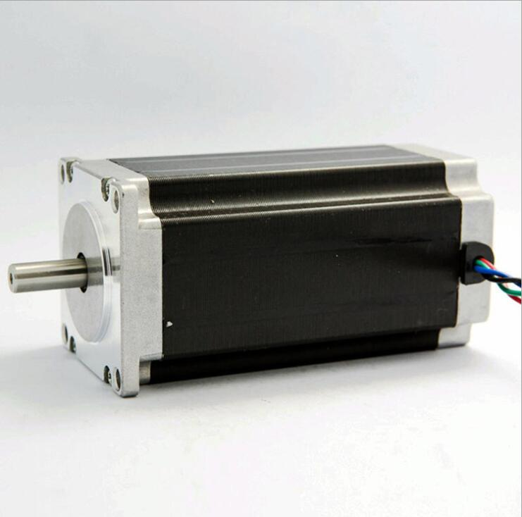 57 stepper motor 57BYGH112 2 phase 4 wire Nema 23 For 3D printer high torque engraving machine CECNC Laser stepper motor 57 series motor drive two phase stepper motor for single axis output engraving machine 3d printing motor 57hs10044a4 l100