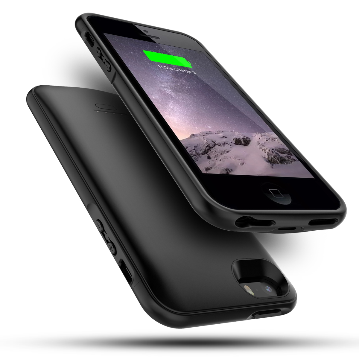 For IPhone SE 5 5S Battery Charger Case 4000mAh External Power Bank Battery Cover For IPhone XR X XS 6 6S 7 8 Plus Charging Case