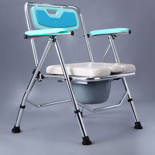 X Exclusive Foldable Commode Toilet Potty Chair Bathroom Shower - Handicapped equipment bathroom