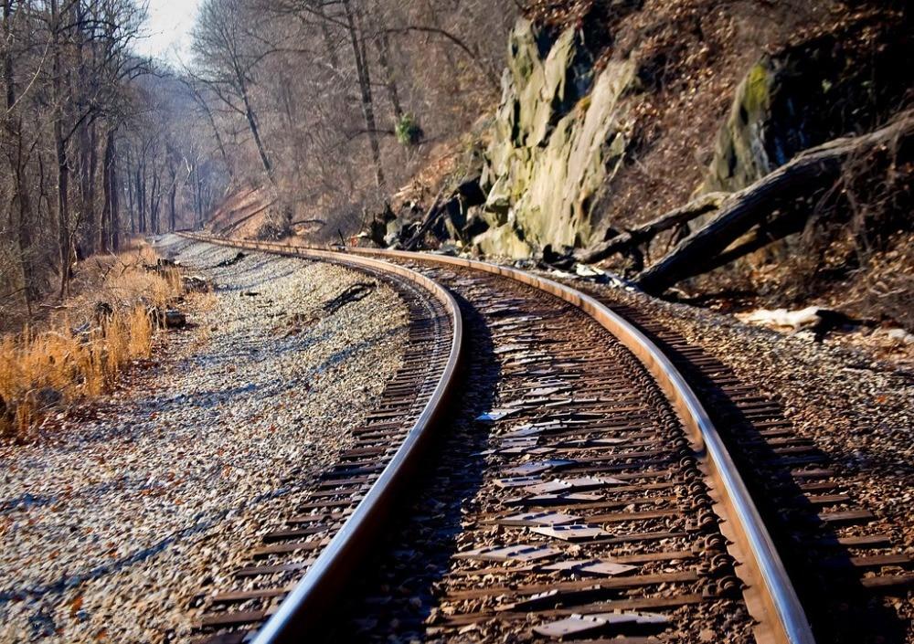 7x5ft Vinyl Custom Railway Theme Photography Backdrops Prop Photo Studio Background NTG-145