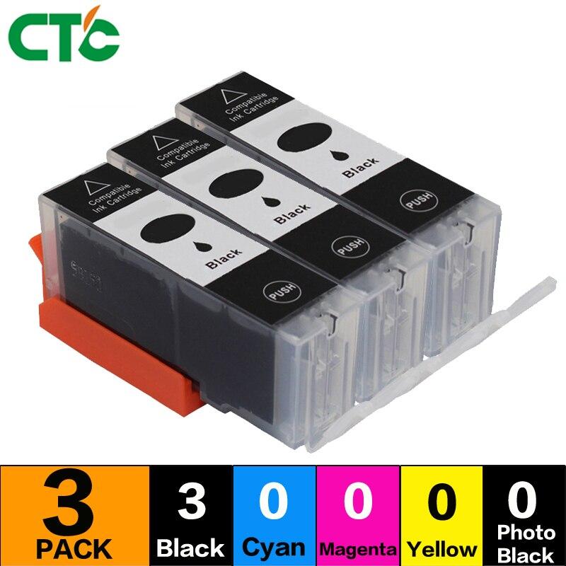 3 BLACK PGI 450 CLI 451 ink cartridge Compitalbe For CANON PIXMA MG5440 MG5540 MG6440 Ip7240 MX924 IX6540 IX6840 PGI450 CLI451