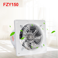 FZY150 Mini Wall Window Exhaust Fan Bathroom Kitchen Toilets Ventilation Fans 2800r Min Windows Exhaust Fan