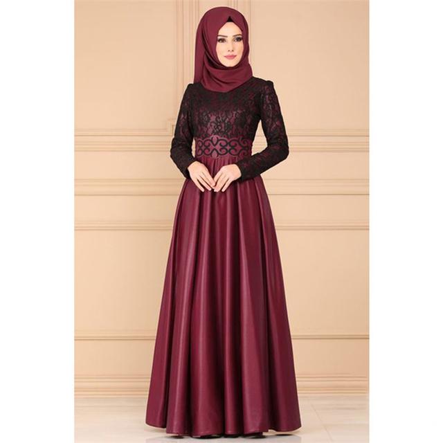 2019 Fashion Evening Turkish dress
