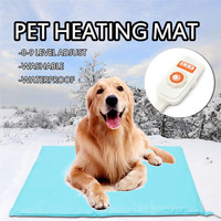 Pet Warming Products Electric Heating Pads Dog Kitten Heating Mat Waterproof Adjustable Puppy Blanket Cat Winter Warming Mat
