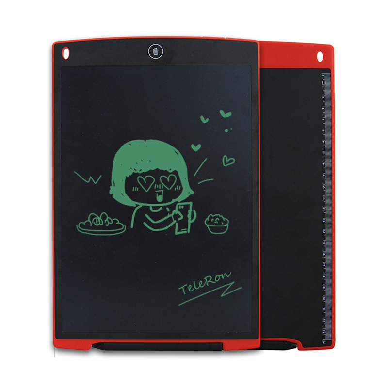 12 Inch LCD Writing Digital Tablets Handwriting Graphic Drawing Pads Portable Electronic Memo Notepads Message Board Kids Gift ...