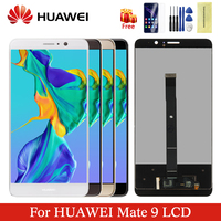 Huawei mate 9 lcd original display digitizer assembly 5.9 inches touch screen with frame replacement for huawei MHA L29 display
