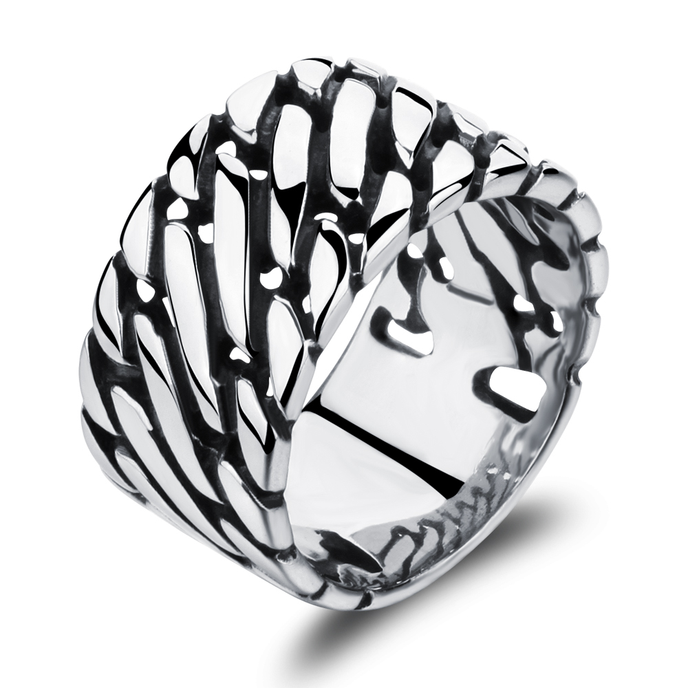 Top Fashion 2017 New Vintage Wide Thumb Rings for Men Ring ...