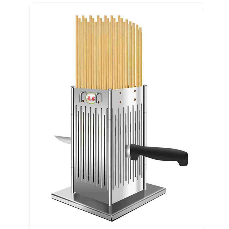 Manual Stainless Steel Beef Mutton String Device Automatic Stringing Machine Barbecue Skewer Artifact Meat Skewers
