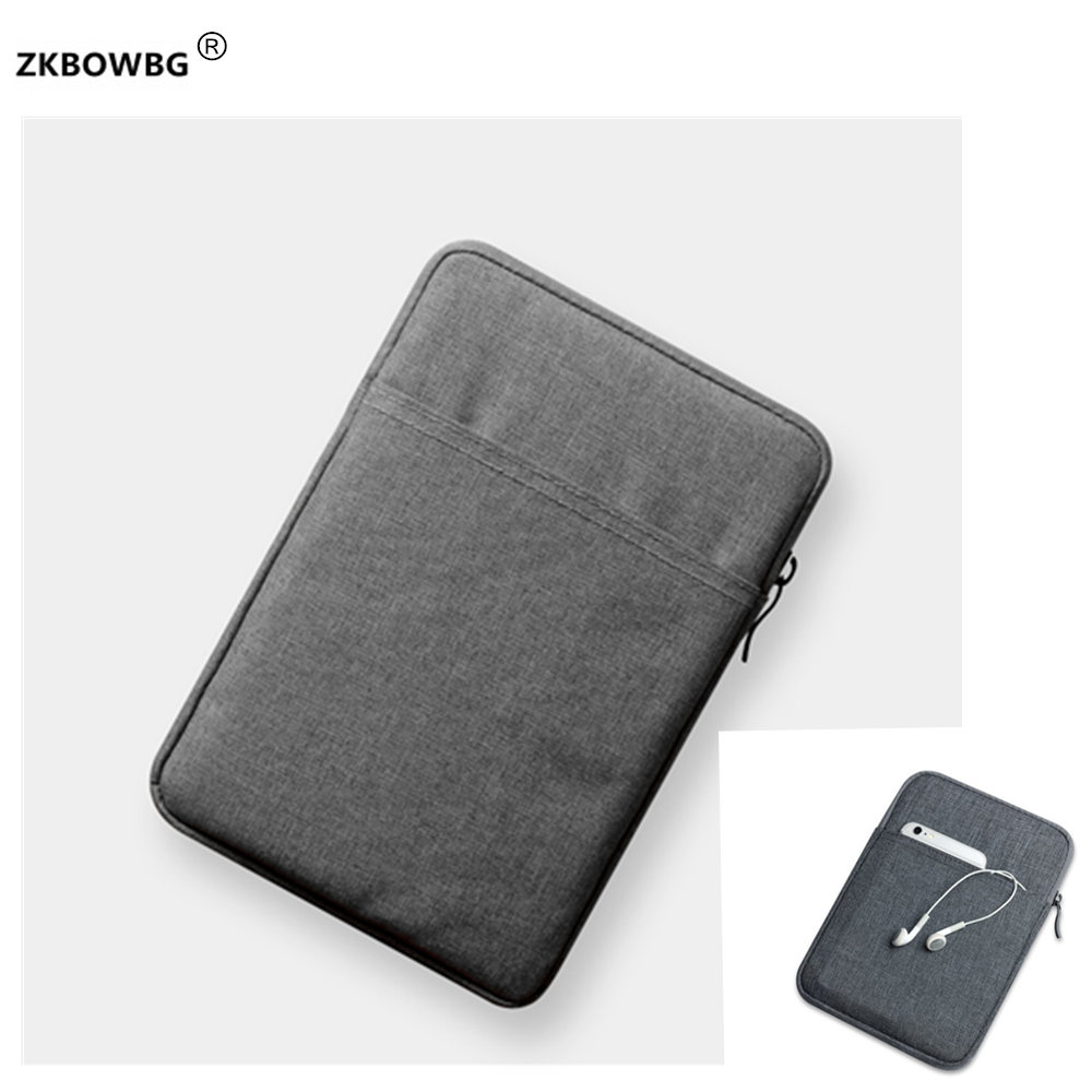 Sleeve Pouch Case for <font><b>DEXP</b></font> Ursus <font><b>N280</b></font> 3G for Alcatel OneTouch 3T 8/POP 8/PIXI 8/POP 8S for Prestigio Muze PMT3718 8 inch Tablet image
