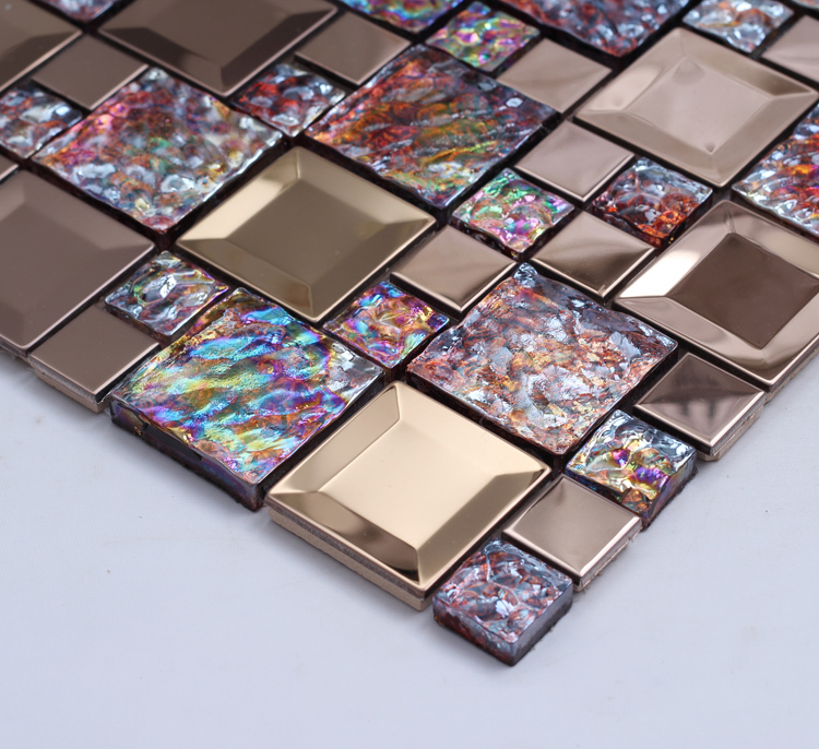 Comprar colorido brillante de cristal for Comprar azulejos para bano