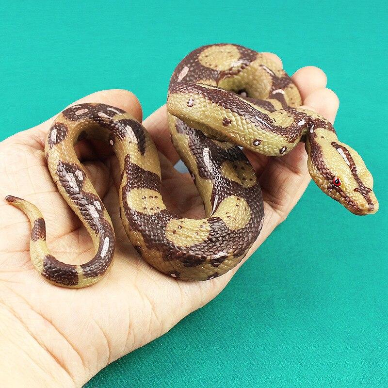 Monster-Toys Collection Snake-Model Horrible Animals for Children 15CM Bedroom-Decor