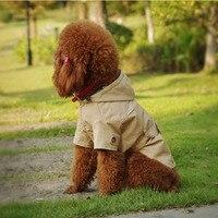 משלוח חינם מעיל ברדס לחיות מחמד בגדי כלב אביב סתיו אופנה Chicdog בגדים חמים לכלבים סיטונאי זול מעילי גור חתול