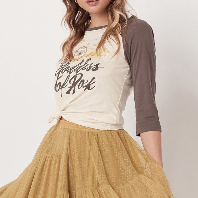 Goddess Of Rock Boho Tee
