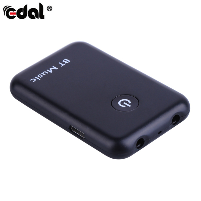 EDAL 2in1 Bluetooth Trasmettitore Ricevitore 3.5mm Stereo Senza Fili di Musica Cavo Audio Dongle Bluetooth V4.2 Adattatore per la TV DVD Mp3 PC