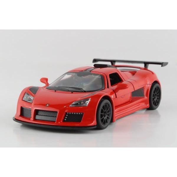 Children Kids Kinsmart 2010 Gumpert Apollo Sport Model Car 1:36 KT5356 5inch Diecast Metal Alloy Cars Toy Pull Back Kids Gift