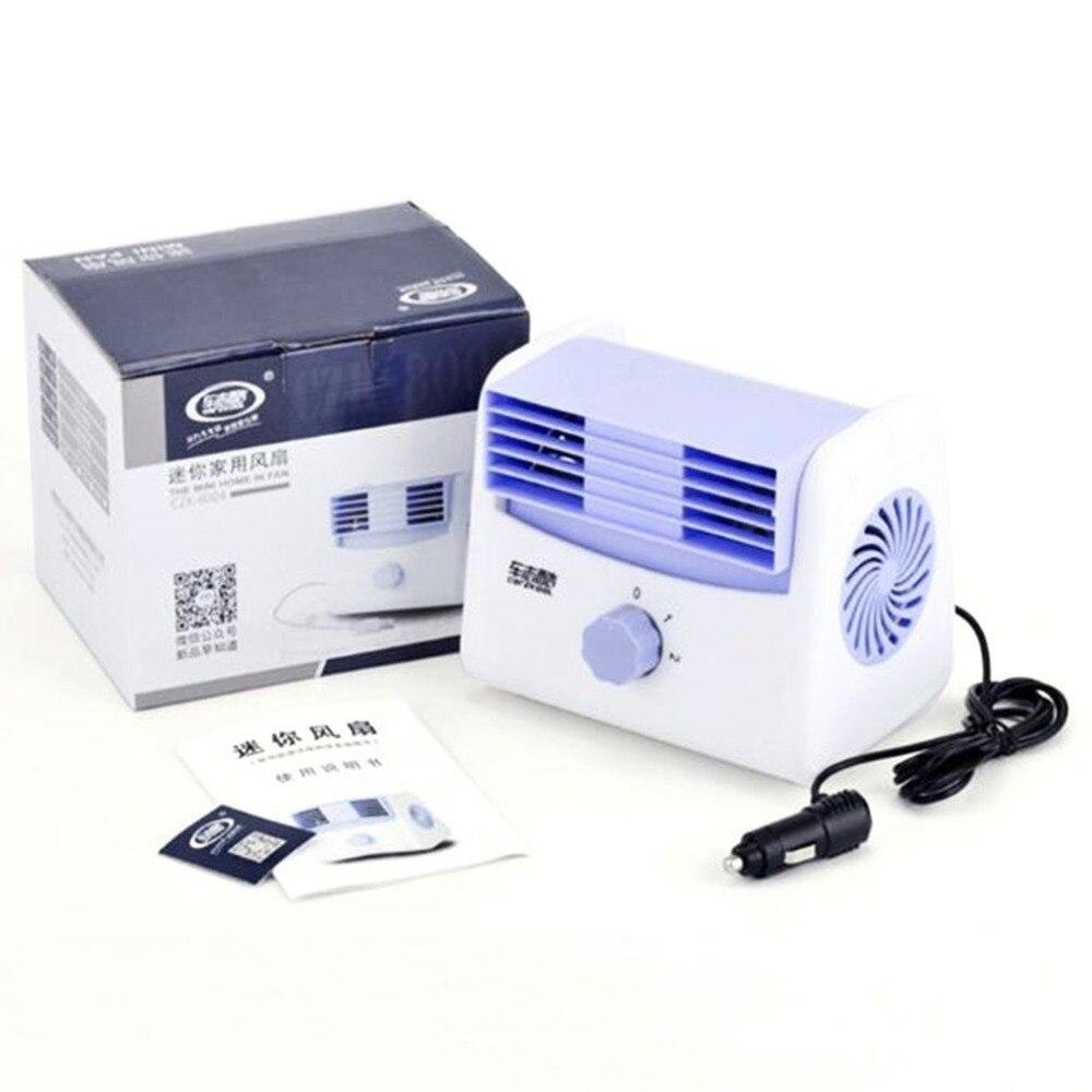 Stumm Blattlosen Klimaanlage Fan Universal Auto Elektrische Fan Verstellbare Fahrzeug Turbofan Auto Kühler Für Baby Geräuscharm Haushaltsgeräte