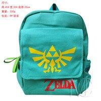 Legend Of Zelda Game Logo Backpack School Bag Printing School Bag For Teenagers Cartoon Travel Bag