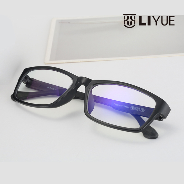 TR90 Anti Computer Blue Laser Fatigue Radiation-resistant Eyeglasses Goggles Prescription Glasses Frame Oculos de grau 2126