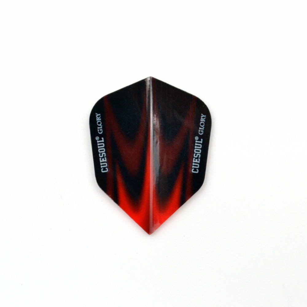 CUESOUL 12pcs Professional Dart Flights 2D Cool Standard Nice Darts Flight Wing Tail CSDF-A5102