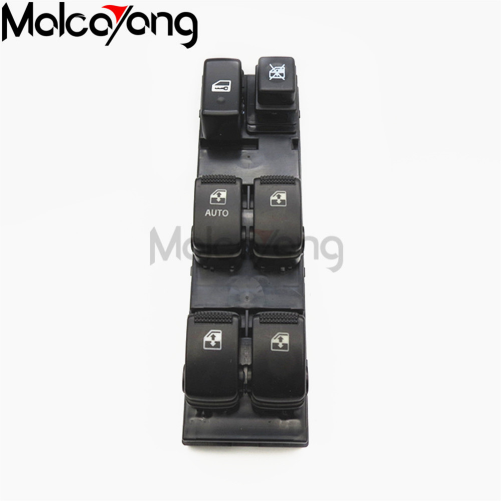 Front left electricl window switch for hyundai tucson 04 10 93570 2e000 935702e000