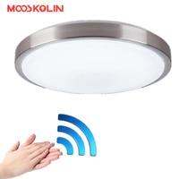 Motion Sensor Radar Human Induction Acrylic Led Ceiling Light Lamp Modern Restaurant Bathroom Aisle Stairs