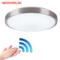 Motion Sensor Radar Human Induction Acrylic Led Ceiling Light Lamp Modern Restaurant Bathroom Aisle Stairs