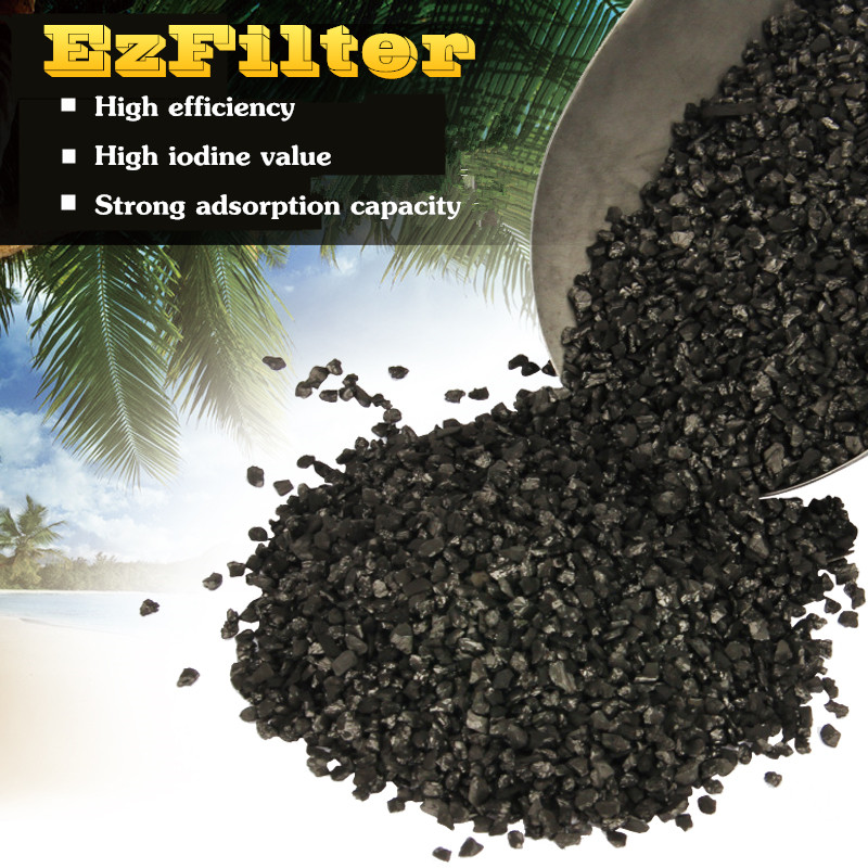 Aquarium Filtration Material Activated Carbon Coconut Shell Charcoal 100% Pure Carbon Food Grade For Water Filter dense biochemical ball culture with 40 bags per ball uniform water polo star valuepack aquarium biological filtration material
