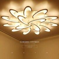 Современный минималистский гостиной потолочный светильник теплой атмосфере Романтический и прочный номер спальня лампы домашнего интерь
