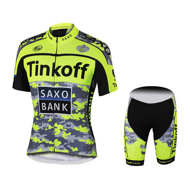 2016 Sport Cycling Jersey Bike Ciclismo Bicycle Bicicleta Ropa Maillot Mtb Clothing Roupas Clothes Camisetas Tinkoff Saxo