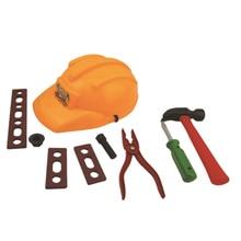 Trabalhador da Construção Civil NFSTRIKE Role Play Toy brinquedos infantis meninos definir chapéu Conjunto Alicate Martelo Chave De Fenda kits-Tipo Aleatório e detalhes