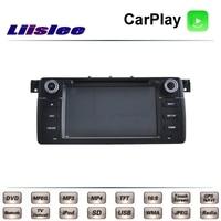 For BMW 3 E46 316 318 320 323 325 328 330 M3 GTR Car Multimedia TV DVD GPS Radio Carplay Original Style Navigation Liislee Navi