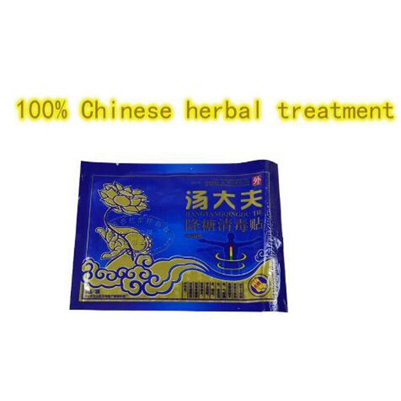 15 шт./3 pack Тип 2 диабет Патч китайский натуральный травяной лекарства лечения вылечить диабет уменьшить высокий уровень сахара в крови код