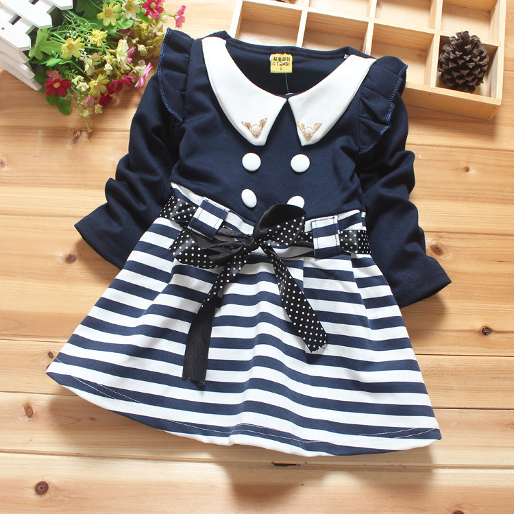 834654a23d0f Baby Girl Dress 2015 Kids Clothes Autumn   Spring Baby Girl Clothes ...