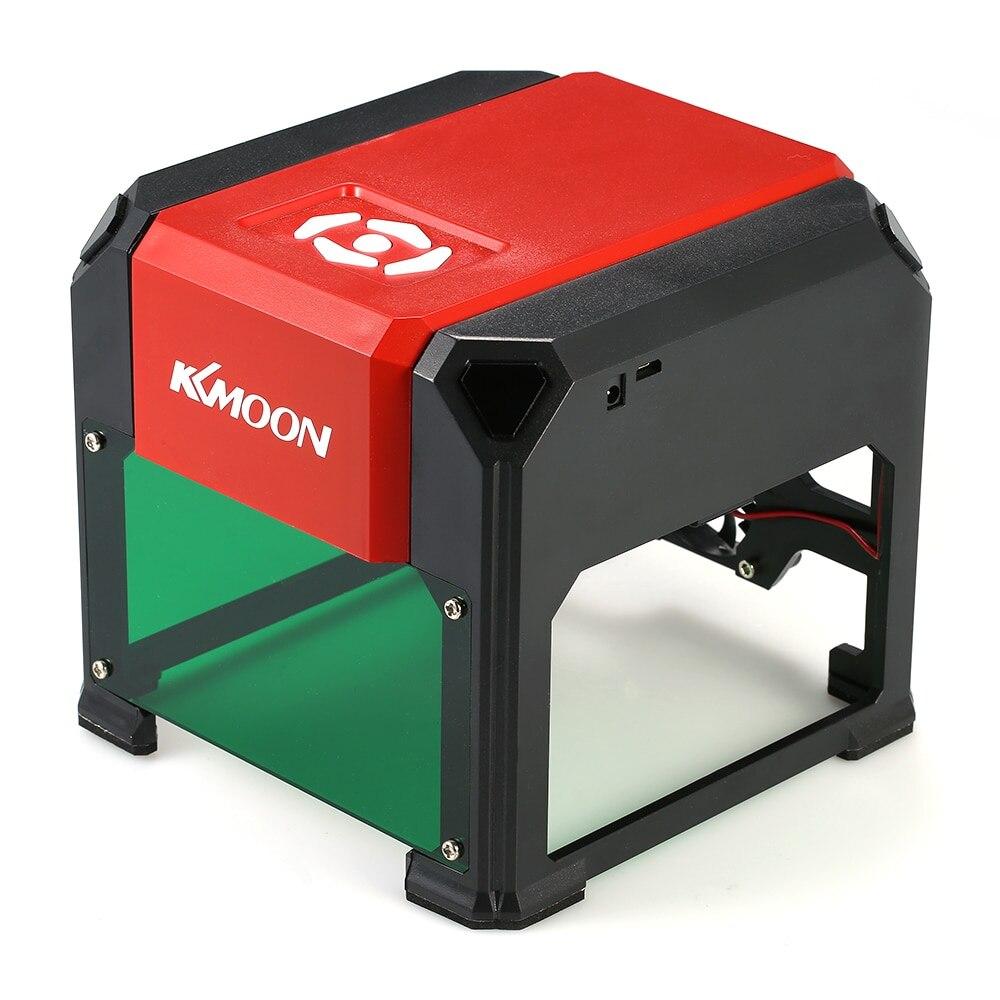 KKmoon 3000mW K5 bricolage Mini USB Laser Machine de gravure automatique CNC bois routeur Laser graveur imprimante Cutter Machine de découpe