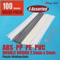 Araç tampon tamir kaynak plastik kaynakçı çubuklar dolgu tabancası fairing sticks kaynak lehimleme vücut dükkanı ABS PE PP PVC teller böler