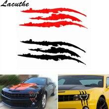 40cm*12cm Car Reflective Monster Sticker Black/White/Red Scratch Stripe Claw Marks Car Auto Vinyl Car Sticker Car Accessories